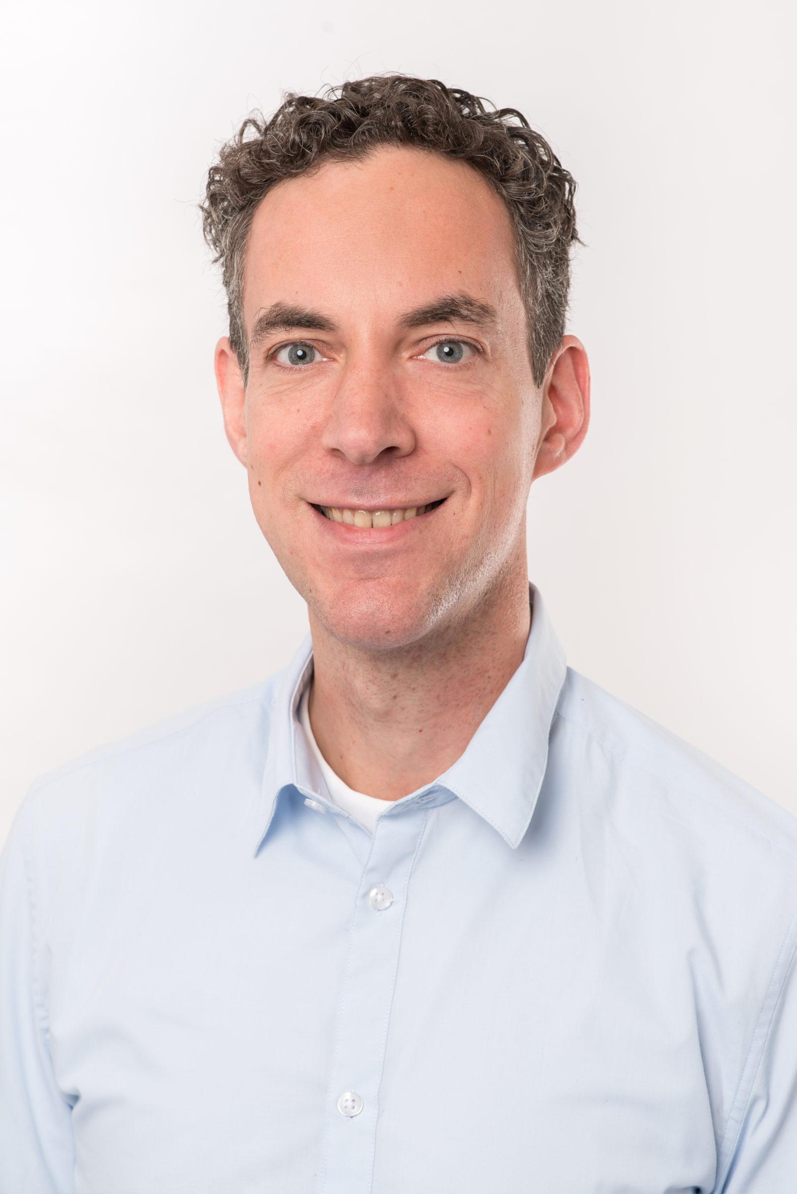 Portretfoto van medewerker Joost Hermus