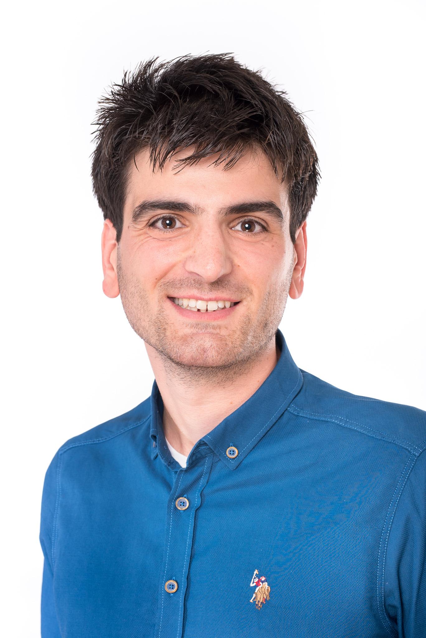 Portretfoto van medewerker Ugur Golbasi