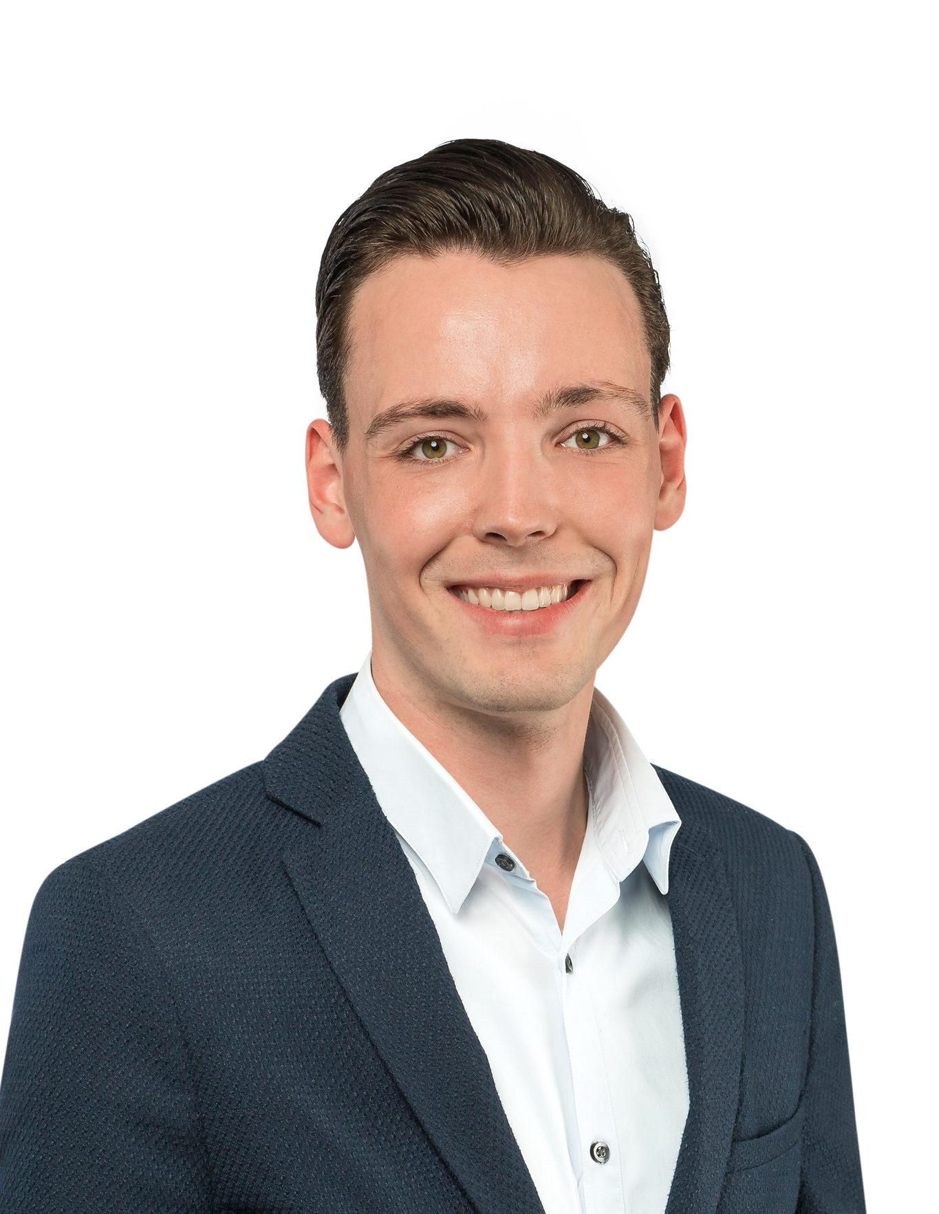 Portretfoto van medewerker Thomas Pulles
