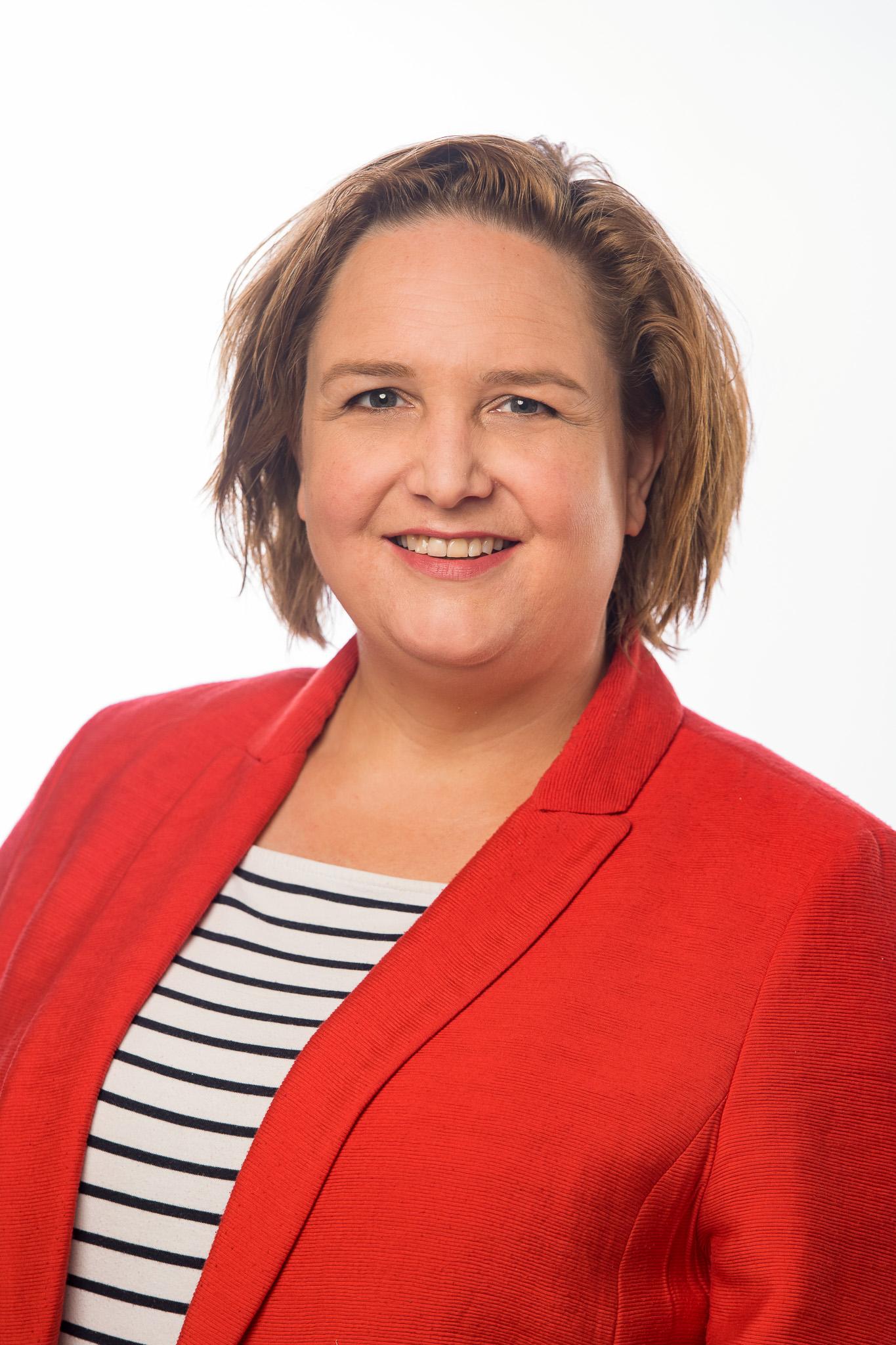 Portretfoto van medewerker Hanneke Verrijt