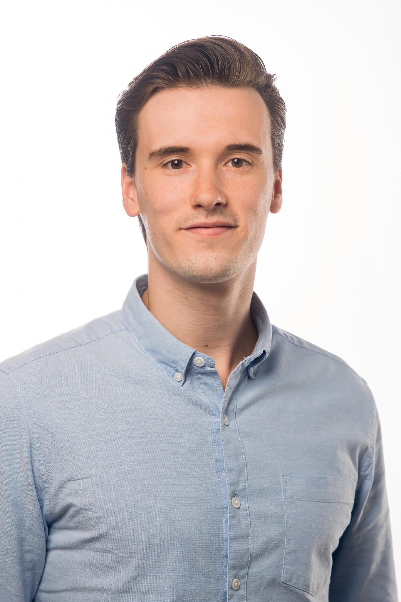 Portretfoto van medewerker Mats Baars