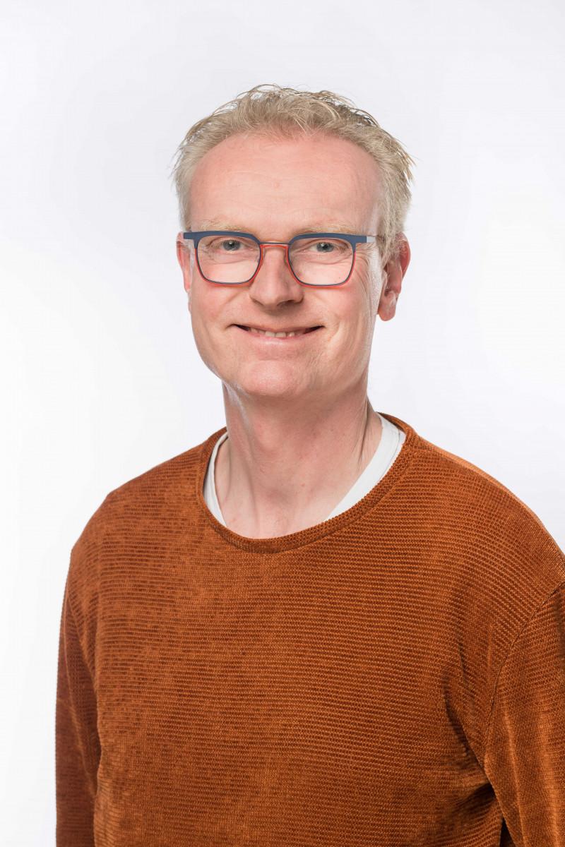 Portretfoto van medewerker Casper Flier