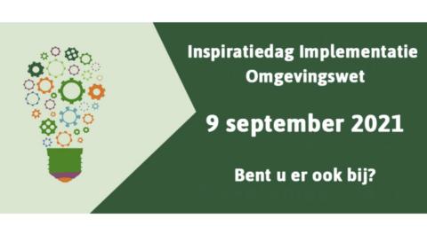 Terugblik Inspiratiedag Omgevingswet – 9 september